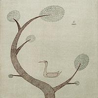 木と鳥と舟