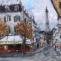 パリー風景