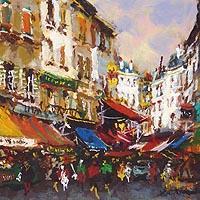 ムフタール パリ風景